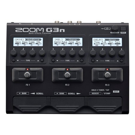Zoom G3N Intuitive Multi Effects Amp Processor Pedal Simulator for (Zoom Pedal Manual)