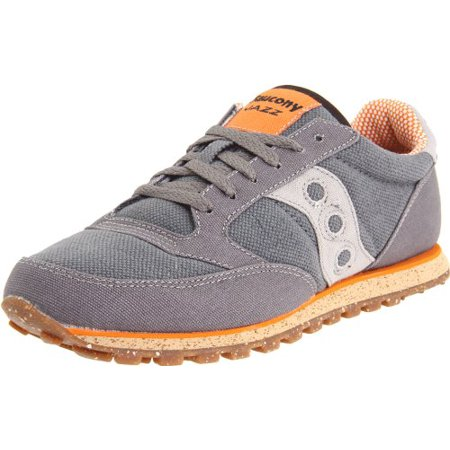 Saucony 2887 15 : Originals Men's Jazz Low Pro Vegan Sneaker,CharcoalOrange (8.5, CharcoalOrange)