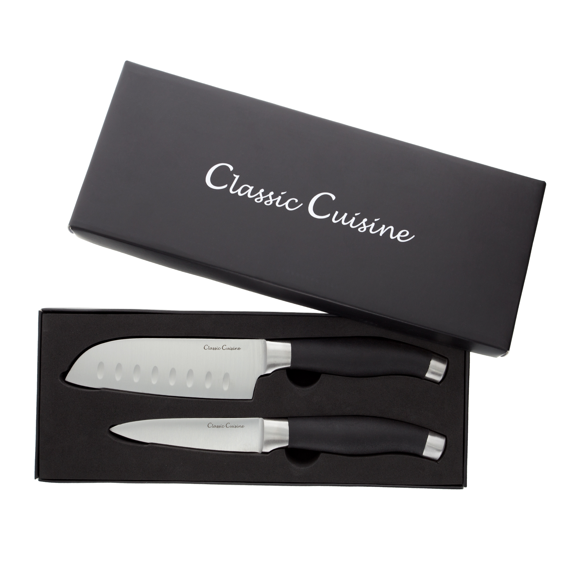 Professional Quality 2 Piece Stainless Steel Hand Forged Knife Set