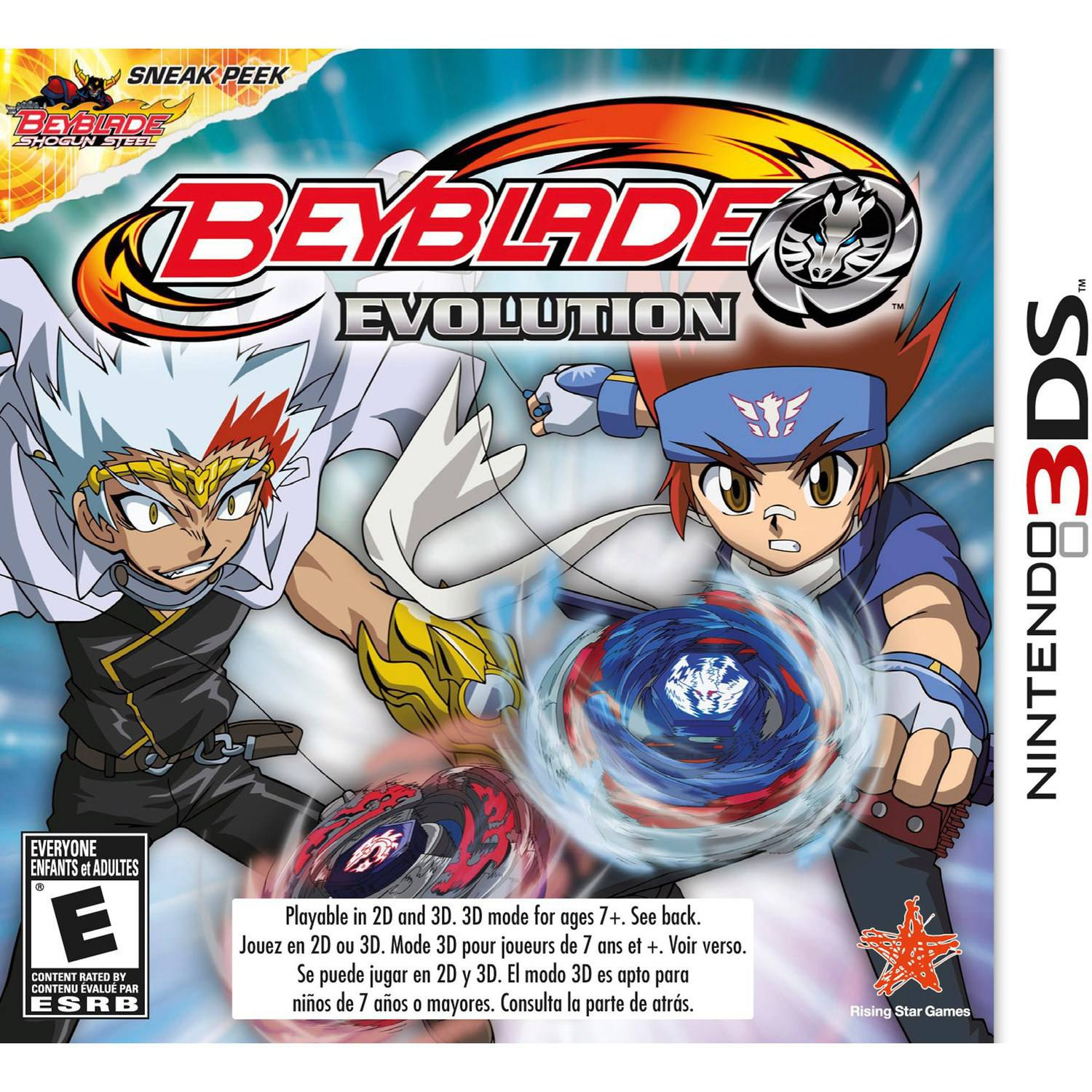 Beyblade: Evolution (Nintendo 3DS)