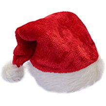 Plush Puppies Holiday Santa Hat (16