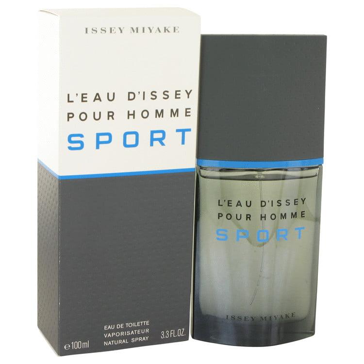 Issey Miyake L'eau D'Issey Pour Homme Sport Eau De Toilette Spray for Men 3.4 oz
