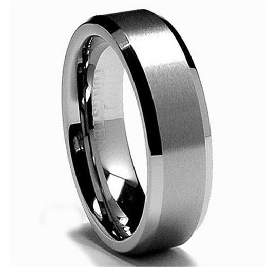 King Will Tungsten Wedding Bands for Men 6mm Tungsten Rings