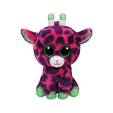 New TY Beanie Boos - Gilbert The Giraffe (Glitter Eyes) Small 6