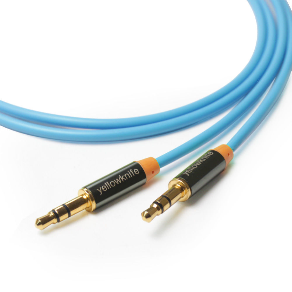 LIVEDITOR Chrome-Finished 3.5mm Tangle-Free Gold Stereo Aux / Auxiliary Cable, 6.6 Feet - image 6 of 6