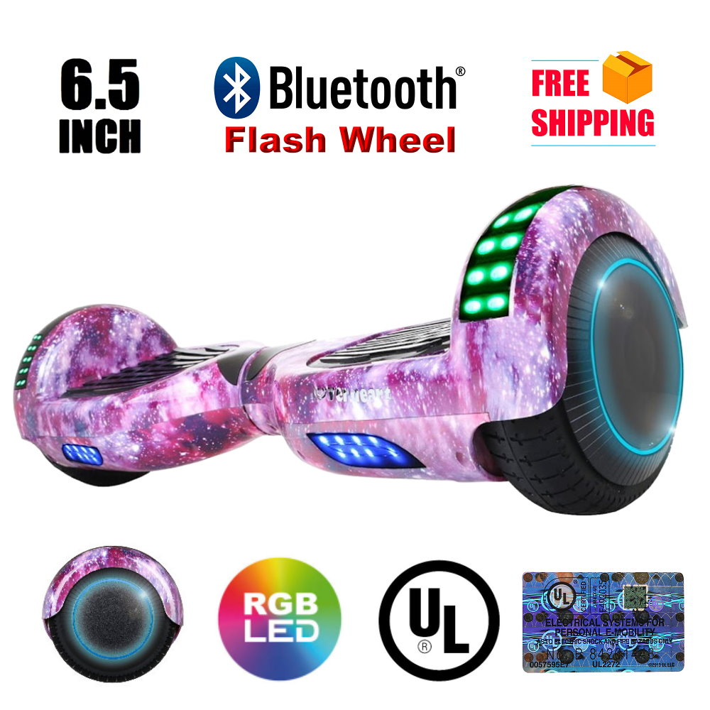 """Hoverheart UL 2272 Certified 6.5"""" Hoverboard (Galaxy)"""