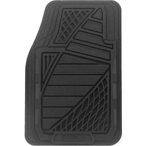 Goodyear 4pc Premium Rubber Floor Mats Walmartcom