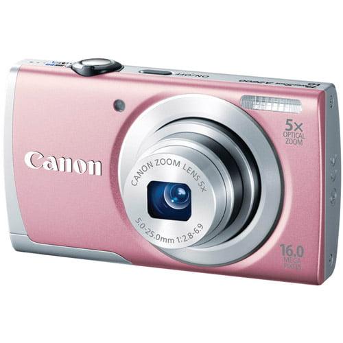 CANON 8161B001 16.0 Megapixel PowerShot(R) A2600 Digital Camera (Pink)
