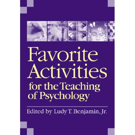 Favorite Activities for the Teaching of (Favorite Activities For The Teaching Of Psychology)