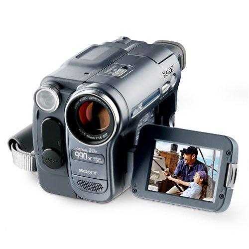 Certified Refurbished Sony Handycam Ccd Trv128 Hi8 Video Camcorder Walmart Com Walmart Com