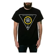 Black Scale Mens The Victorious Blessed Graphic T-Shirt, black, Medium