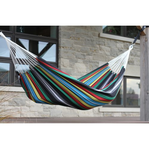 Brazilian Hammock by Vivere Ltd, Single - Rio Night