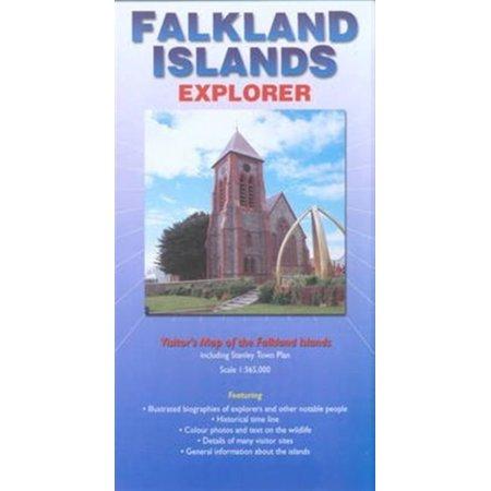 Falkland Island Falkland Islands (Falkland Islands Explorer: Visitors Map of the Falklands Islands Including Stanley Town Plan (Ocean Explorer Maps) (Map) )