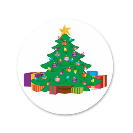 Christmas Tree Edible Icing Image Cake Decoration Topper -1/4 Sheet ()