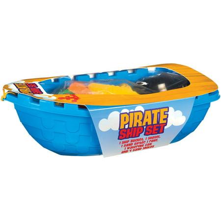 Pirate Ship Beach Toys Set