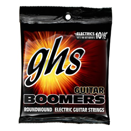 GHS Strings Electric Guitar Boomer Set (10 1/2)