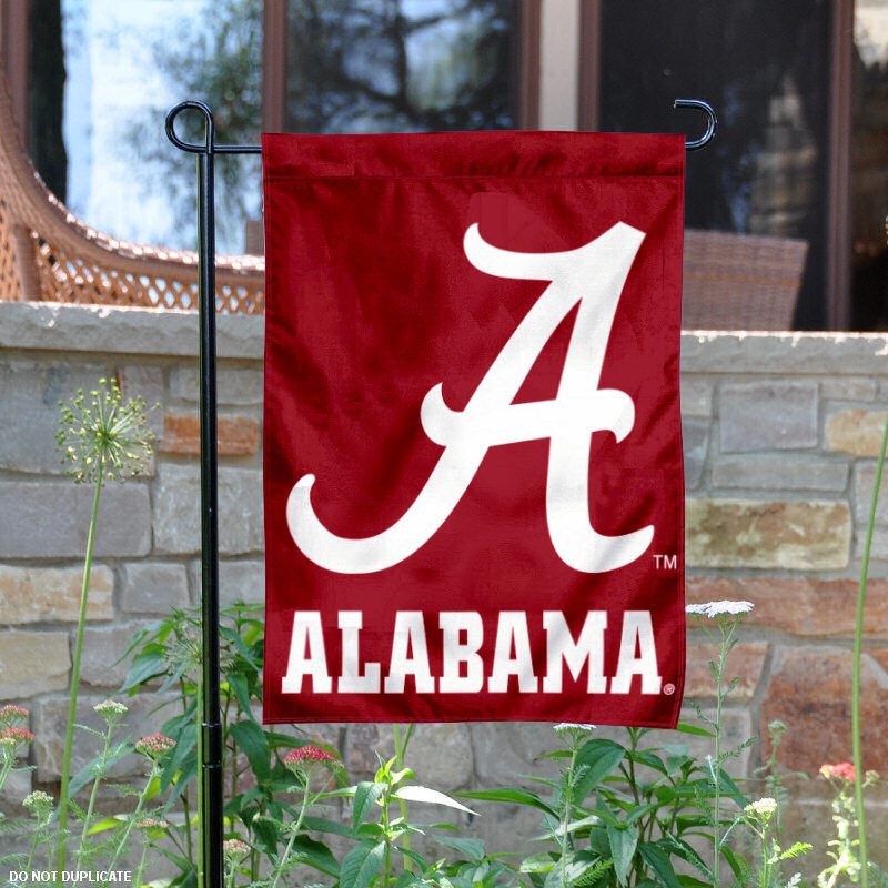 "Alabama Crimson Tide 13"" x 18"" College Garden Flag"