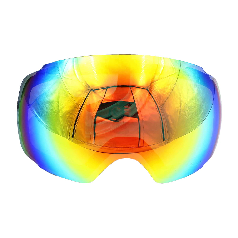 Ediors Detachable Mirror Lens for Winter Snowboard Ski Goggles by Ediors