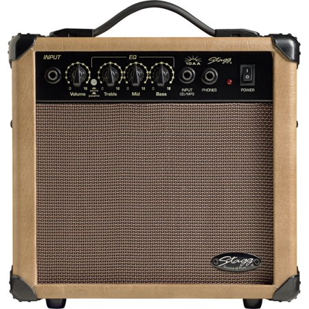 - Stagg 10 AA USA Acoustic Guitar Amplifier