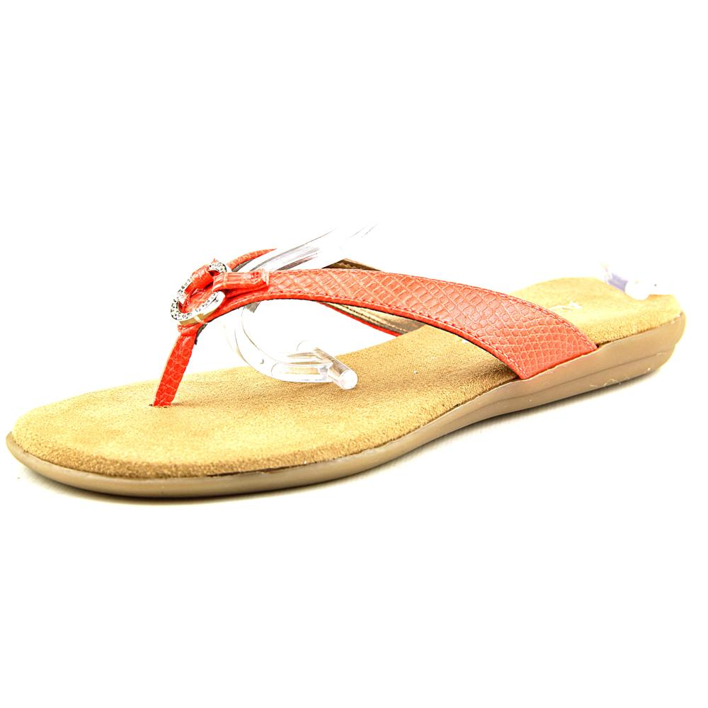 Aerosoles Chlub Member Open Toe Synthetic Thong Sandal by Aerosoles