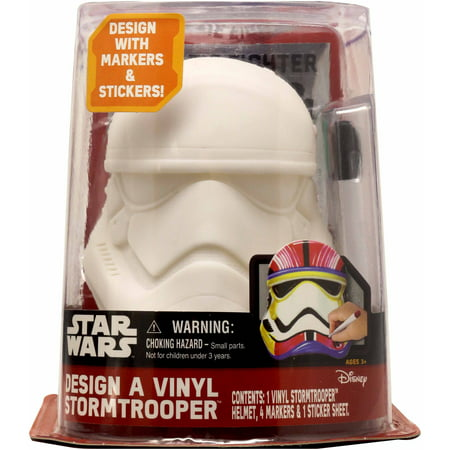 Star Wars Design a Vinyl Storm Trooper Play Set (Female Storm Trooper)