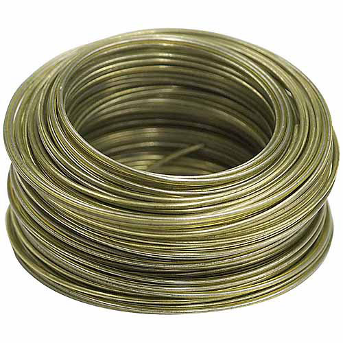 Hillman Group Inc-Ook 50179 75' 20-Gauge Plastic Coated Hobby Wire