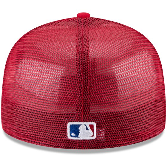 info for cdf8d 4fa05 Philadelphia Phillies New Era On-Field Replica Mesh Back 59FIFTY Fitted Hat  - Red - Walmart.com