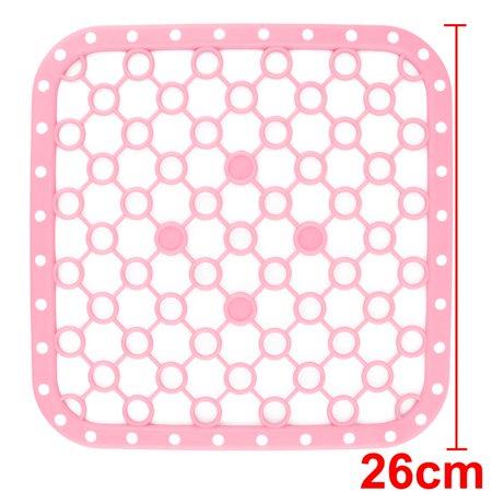 Kitchen Table Protector Cup Bowl Pot Holder Heat Resistant Mat Pad Pink 2 Pcs - image 1 de 4