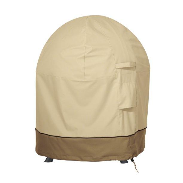 Classic Accessories Veranda Water Resistant 30 Inch Globe Fire Pit Cover Walmart Com Walmart Com