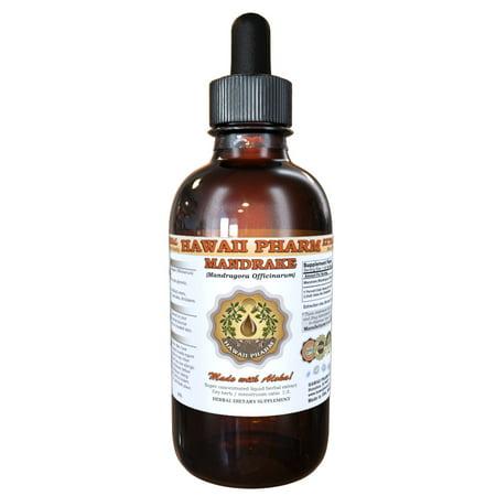 Mandrake (Mandragora Officinarum) Tincture, Dried Root Liquid Extract, Erowid Mandrake, Herbal Supplement 2 oz ()