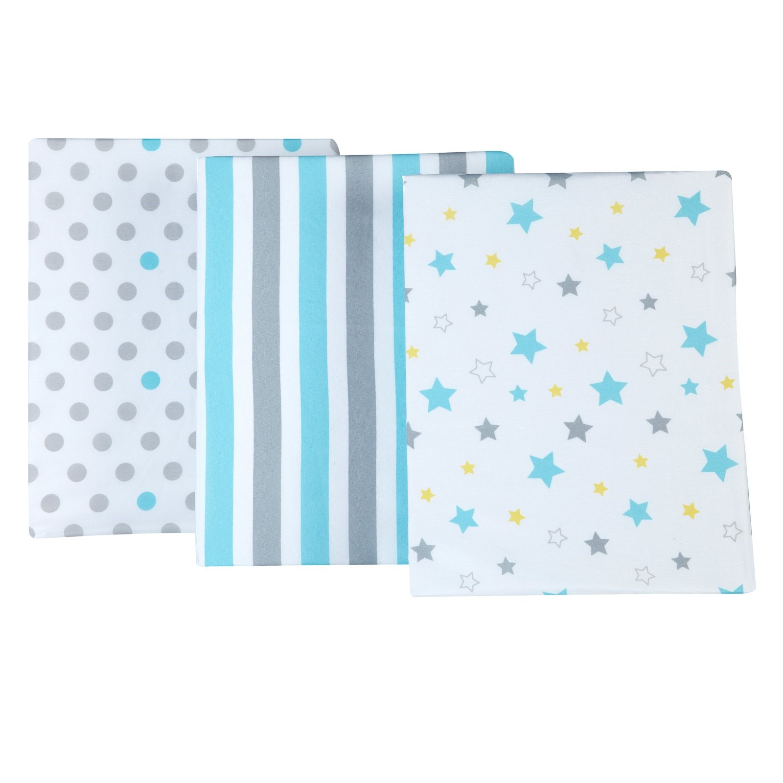 Twinkle Twinkle Crib Sheet - Set of 3 by NoJo