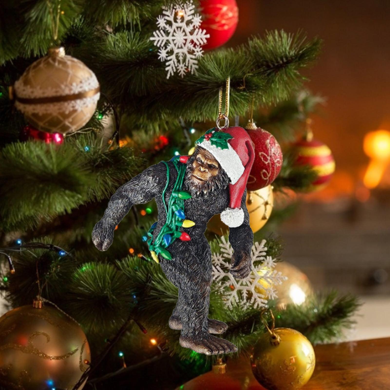 Bigfoot Ornament Abominable Snowman Christmas Hanging Walmart Com Walmart Com
