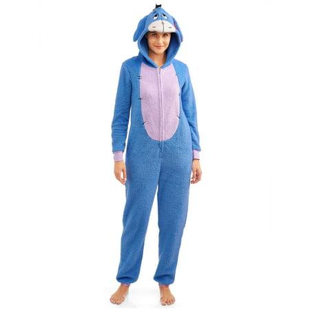 Disneys Women's and Women's Plus Union Suit Eeyore