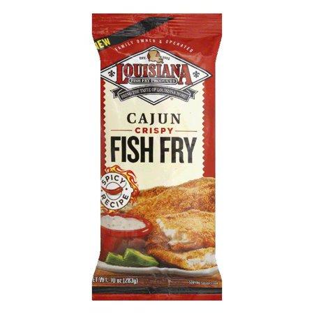 Cajun Fish (Louisiana Cajun Crispy Fish Fry, 10 Oz (Pack of 12))