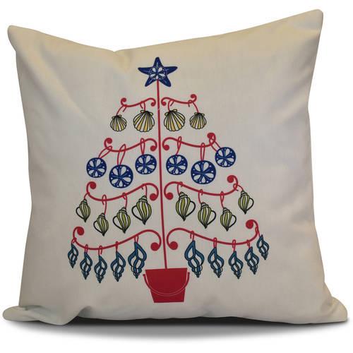 "Simply Daisy 16"" x 16"" Beach Tree Geometric Print Pillow"