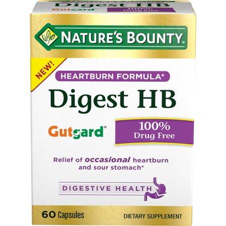 - Nature's Bounty Digest HB Heartburn Formula Capsules, 60 Ct