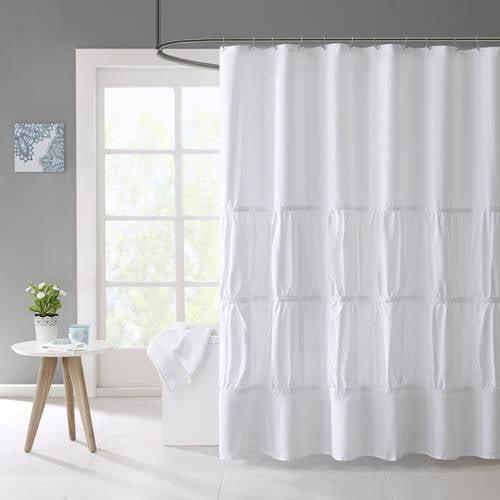 Home Essence Teen Haley Microfiber Shower Curtain