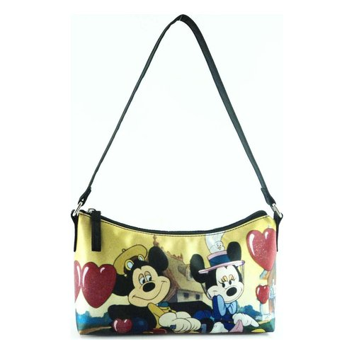 License Mickey Nylon Shoulder Bag