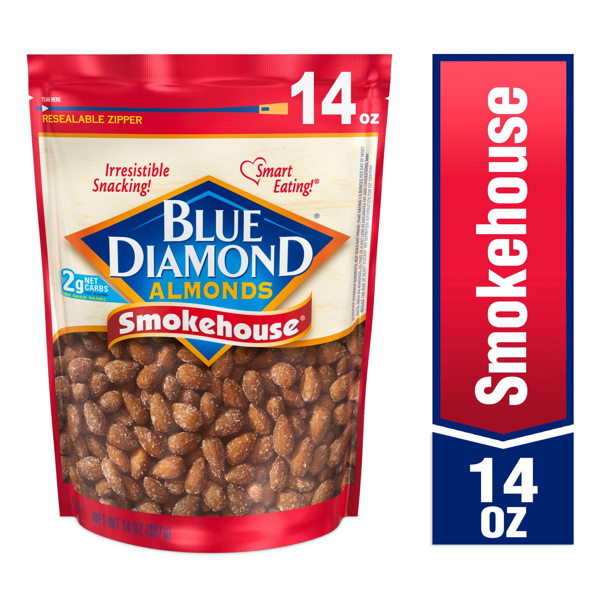 Blue Diamond Almonds, Smokehouse 14 oz
