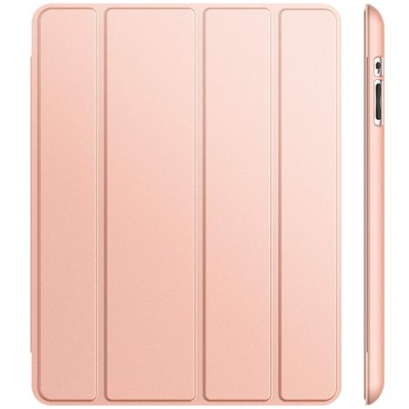 JETech Case for iPad 2 3 4 (Old Model) Smart Cover with Auto Sleep/Wake, Rose