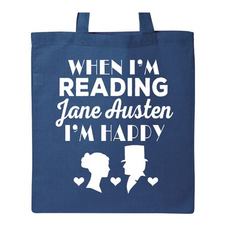 Jane Austen Fan Darcy And Elizabeth Tote Bag Royal Blue One Size
