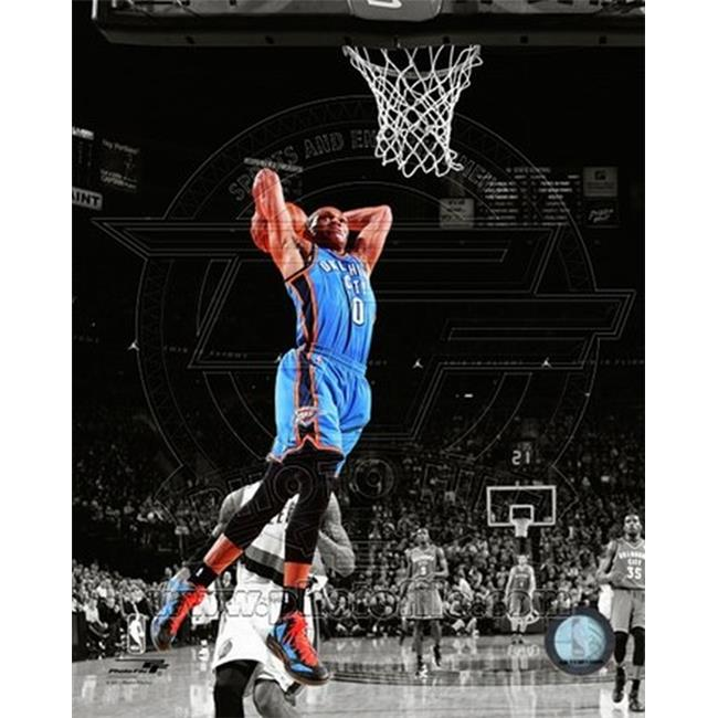 Photofile PFSAAOR10301 Russell Westbrook 2011-12 Spotlight Action Sports Photo - 8 x 10