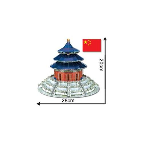 GDC-Gamedevco 50039 Temple of Heaven 3D Puzzle Large