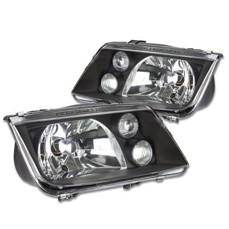 For 99 05 Volkswagen Vw Jetta Oe Style Headlight Black Housing Headlamps A4 Typ 1j 00 01 02 03 04 Left Right