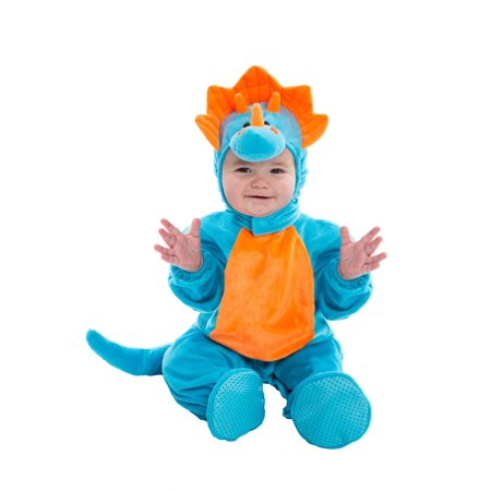 Cheap Dinosaur Costumes (Infant Blue and Orange Dino)