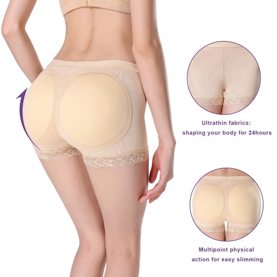 1be5c448b273 Zerone - 2 Colors Sexy Women Butt Shaping Lifting Panties Padded ...
