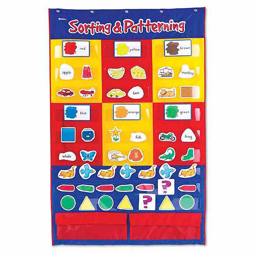 Learning Resources Sorting & Patterning Pocket Chart