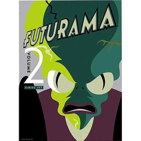 FUTURAMA V02 (DVD/4 DISC/RE-PKGD/FS)