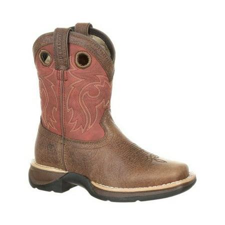 Saddle Kids Boots - Children's Durango Boot DBT0202Y Lil' Rebel WP Saddle Boot - Big Kid