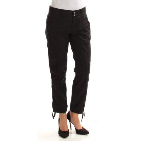 Ralph Lauren Petite Pants (RALPH LAUREN Womens Black Cargo Pants Petites  Size:)